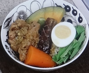 簡単野菜スープカレー