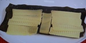 チーズの昆布締め