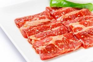 牛肉、カルビ、焼肉