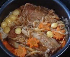 スペアリブの炊き込みご飯