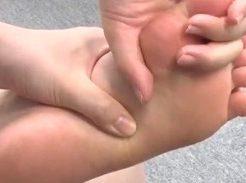 浮き指にーパーリハビリ運動