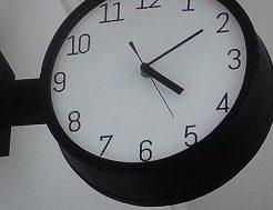 木桶で作るおしゃれ時計