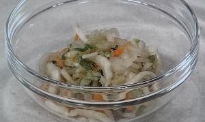 白菜と大根の切り漬け