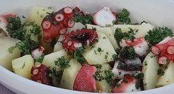 たことジャガイモのサラダ