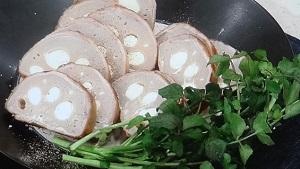 チーズれんこんの肉巻き