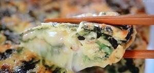 ほうれん草のチーズオムレツのレシピ