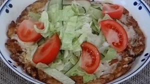 オムレツピザ