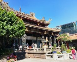 台湾 龍山寺