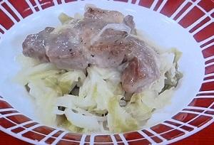 豚キャベツ煮込み