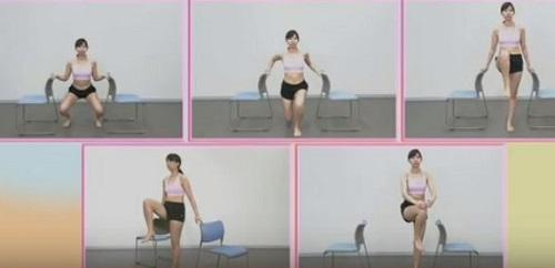 血糖値を5分で下げる体操