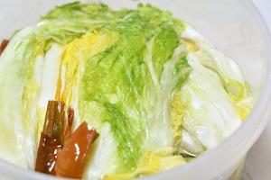 白菜の漬物、漬け物