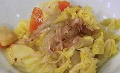 春キャベツの常備菜