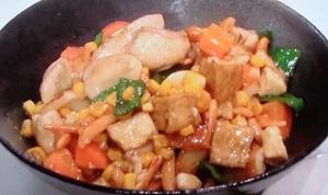 鶏胸肉のカシューナッツ風炒め