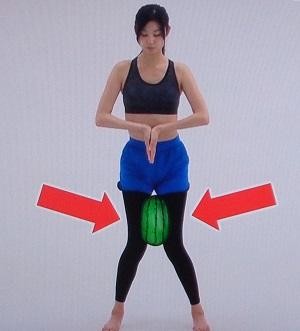 太ももを引き締める5秒筋トレ