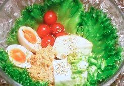 納豆豆腐ネバネバ丼
