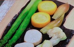 野菜の昆布締め