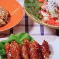 夏野菜、肉巻き
