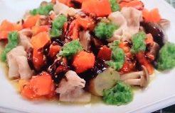 豚肉と野菜のレンジ蒸し