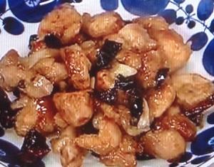 鶏肉の唐辛子炒め