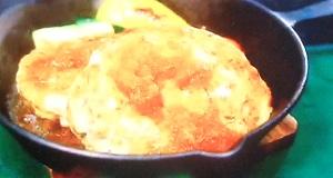 緑茶のハンバーグのレシピ
