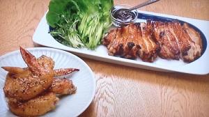 鶏肉の北京ダック風、手羽先