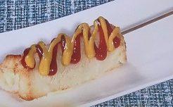 食パンチーズドッグ