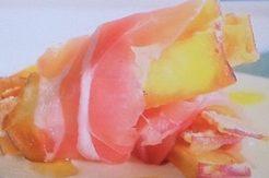 サツマイモの生ハム巻き
