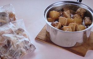 豚バラと大根の甘辛煮込み