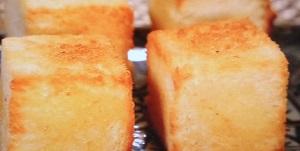 バターキューブバタートースト