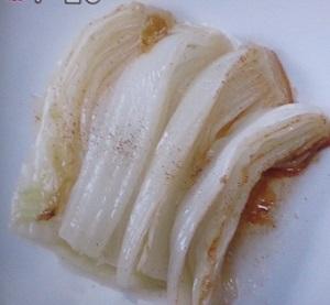 白菜の蒸し煮(エチュベ)