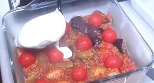 ミニトマトグラタン