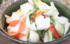 白菜のゆず漬け
