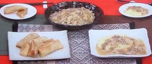 白菜とひき肉の煮物