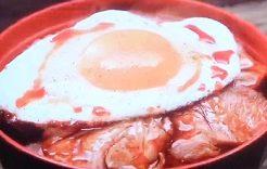 焼豚玉子飯