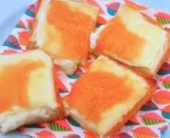 チーズケーキ風トースト