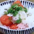 ミニトマトの炊き込みご飯