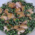 鶏のニラ醤(ジャン)風味