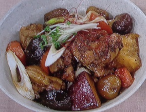 鶏の煮物 チムダック
