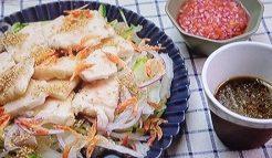 鶏むね肉のプルプルサラダ